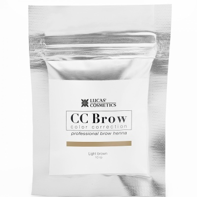 Хна для бровей CC Brow (light brown) в саше (светло-коричневый), 5 г